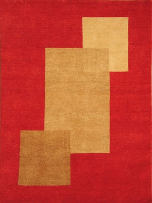 Eastern Weavers Arzu Red Peach Hand Tufted Rug