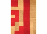 Eastern Weavers Arzu Red Peach Wool Rug