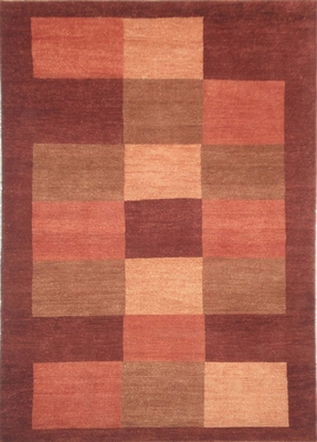 Eastern Weavers Arzu Red Rust Hand Tufted Wool Rug