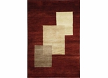 Eastern Weavers Arzu Rust Beige Hand Tufted Rug