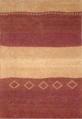 Eastern Weavers Arzu Rust Contemporary Rug