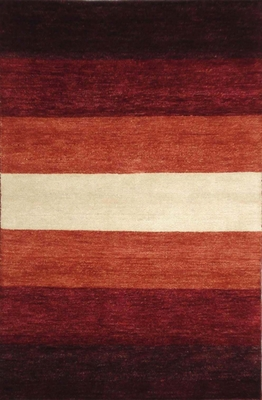 Eastern Weavers Arzu Rust Red Wool Rug