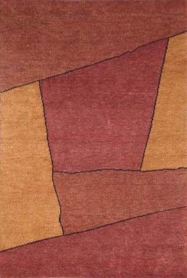 Eastern Weavers Arzu Rust Wool Rug