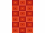 Eastern Weavers Arzu Wool Area Rug in Terra Cotta