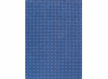 Eastern Weavers Basket Weave Blue Wool Rug