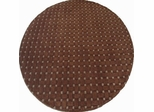 Eastern Weavers Basket Weave Brown Wool Rug