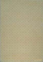 Eastern Weavers Basket Weave Ivory Wool Rug