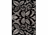 Eastern Weavers Black & White Hand Tufted Rug