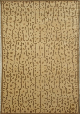 Eastern Weavers Brandon Beige Brown Wool Rug