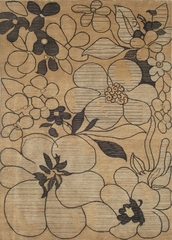 Eastern Weavers Brandon Beige Hand Tufted Area Rug