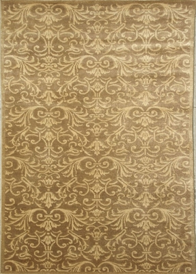 Eastern Weavers Brandon Brown Beige Wool Rug