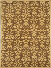 Eastern Weavers Brandon Brown Gold Transitional Rug