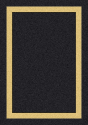 Eastern Weavers Cecilia Border Black Beige Rug