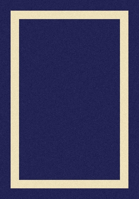 Eastern Weavers Cecilia Border Blue Derby Rug