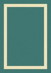 Eastern Weavers Cecilia Border Mint Derby Rug