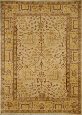 Eastern Weavers Egyptian Sphinx Beige Gold Persian Rug