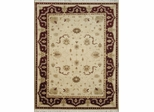 Eastern Weavers Egyptian Sphinx Beige Red Persian Rug