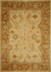Eastern Weavers Egyptian Sphinx Beige Rust Rug