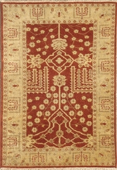 Eastern Weavers Egyptian Sphinx Rust Gold Persian Rug