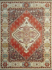 Eastern Weavers Emerson Rust Beige Persian Wool Rug