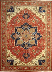 Eastern Weavers Emerson Rust Persian Wool Rug