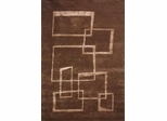 Eastern Weavers Ethan Brown Modern Wool Rug