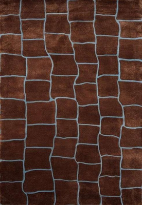 Eastern Weavers Ethan Modern Brown Rectangular Rug