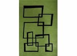 Eastern Weavers Ethan Modern Green Hand Tufted Rug