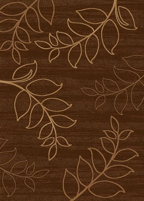 Eastern Weavers Ethan Rectangular Wool Rug in Brown