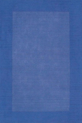 Eastern Weavers Henley Blue Wool Border Rug