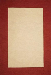 Eastern Weavers Henley Cardinal Red Wool Border Rug