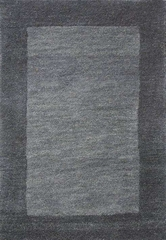 Eastern Weavers Henley Grey Abbey Wool Border Rug