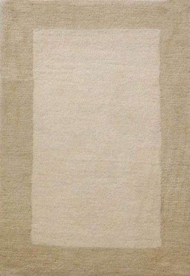 Eastern Weavers Henley Ivory Beige Wool Border Rug