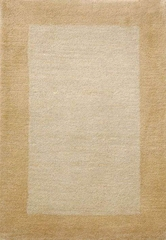 Eastern Weavers Henley Ivory Bronze Wool Border Rug