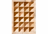 Eastern Weavers Kyle Brown Ivory Cowhide Contemporary Rug