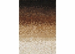 Eastern Weavers Kyle Cowhide Brown Ivory Hand Crafted Rug