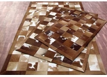 Eastern Weavers Kyle Cowhide Brown Ivory Rug