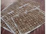 Eastern Weavers Kyle Cowhide Contemporary Rug in Brown Ivory