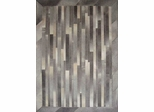 Eastern Weavers Kyle Cowhide Ivory Grey Hand Crafted Rug