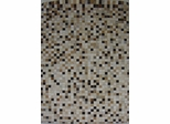 Eastern Weavers Kyle Hand Crafted Cowhide Ivory Brown Rug