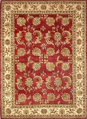 Eastern Weavers Martha Atlantis Red Ivory Wool Oriental Rug