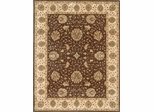 Eastern Weavers Martha Esta Brown Ivory Wool Oriental Rug