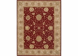 Eastern Weavers Martha Esta Red Beige Wool Oriental Rug