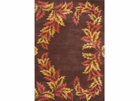 Eastern Weavers Preston Cocoa Bean Wool Rug
