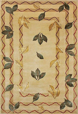 Eastern Weavers Preston Ivory Beige Wool Rug