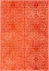 Eastern Weavers Preston Red Orange Wool Rug