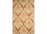 Eastern Weavers Soho Beige Brown Tibetan Wool Rug