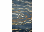 Eastern Weavers Soho Blue Ivory Tibetan Wool Rug