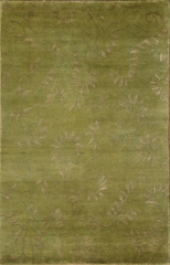 Eastern Weavers Soho Green Beige Tibetan Wool Rug