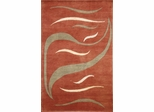 Eastern Weavers Soho Rust Ivory Tibetan Wool Rug